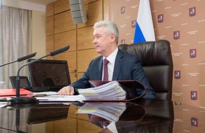 Мэр Москвы Сергей Собянин провёл очередное заседание Градостроительно-земельной комиссии