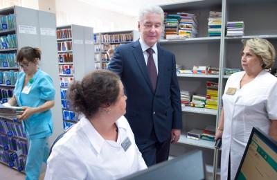 Мэр Москвы Сергей Собянин сообщил, что с 1 июля в столице запущены онлайн-сервисы, с помощью которых можно оценить работу столичных поликлиник