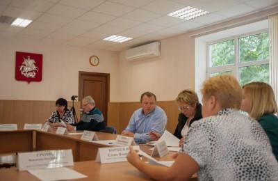 План работы на четвертый квартал 2015 года утвердили депутаты муниципального округа Братеево