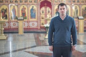 Председатель приходского совета храма Сергей Балашов