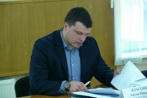 Директор центра «Мир молодых» Антон Власенко