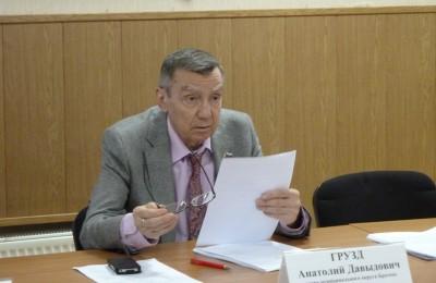 Глава муниципального округа Братеево Анатолий Грузд