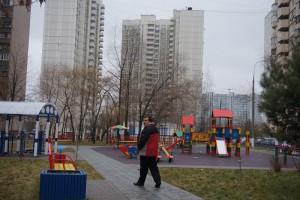 Благоустроенная территория Минского дворика