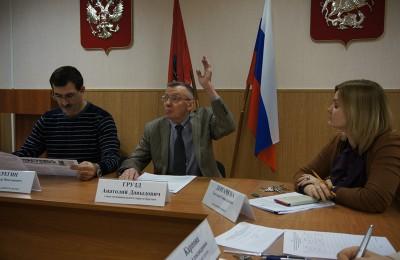 Глава муниципального округа Братеево Анатолий Грузд сообщил, что проект решения Совета депутатов ыл размещен на официальном сайте