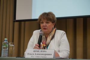 Первый заместитель главы управы по вопросам ЖКХ, благоустройства и строительства Ольга Шмелева