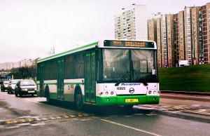 Автобус в районе Братеево