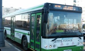 Автобус №675 в ЮАО