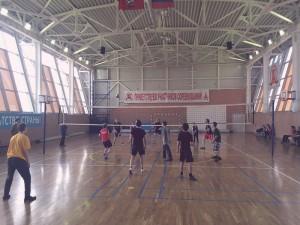 Окружная спартакиада Мир равных возможностей - турнир по волейболу