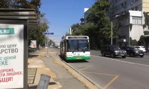 Автобус в районе Даниловский