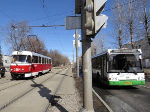 Трамвайные пути в Москве
