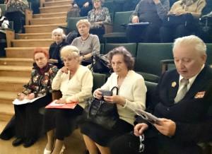 Состоялось расширенное заседание президиума Совета ветеранов ЮАО