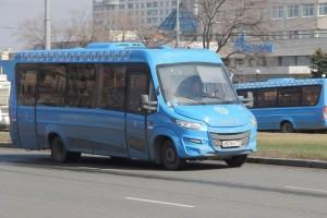 Маршрутный автобус в ЮАО