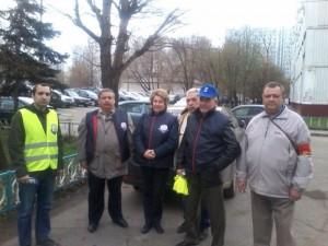 Активисты Безопасной столицы района Братеево