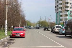 Автомобильная дорога в районе Братеево