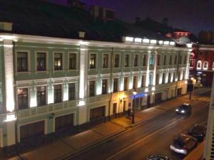 Фонарное освещение в центре Москвы