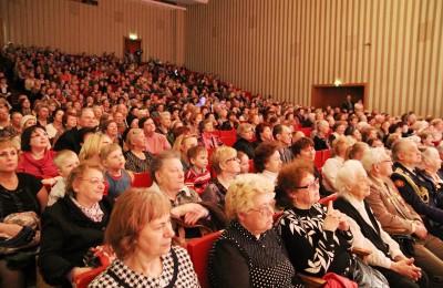 Жители района Москоречье-Сабурово на концерте
