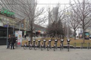 Велопарковка в Москве