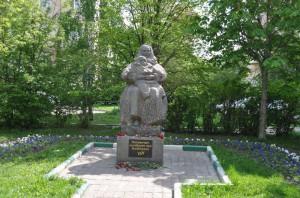 Памятник москвичам, погибшим при бомбежках