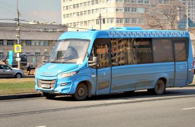 Маршрутное такси в ЮАО