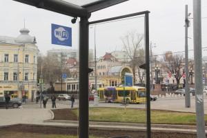 Бесплатный Wi-Fi до конца года появится во всех автобусах, троллейбусах и трамваях столицы