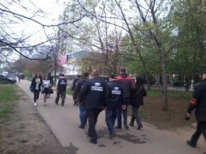 Активисты Безопасной столицы