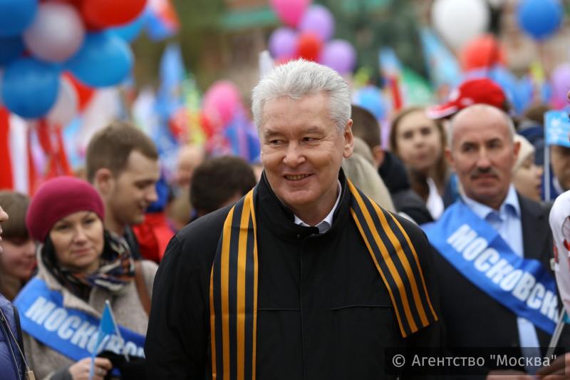 В каком году собянин стал мэром москвы