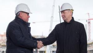 Сергей Собянин сообщил, что в Москве развязка на Волгоградском проспекте будет открыта осенью 2016 года