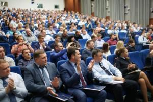Гости мероприятия в управлении внутренних дел по Южному округу