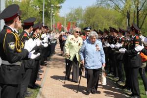 Праздник в честь 9 Мая в одном из районов ЮАО в прошлом году