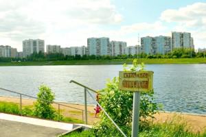 Москва-река в районе Братеево
