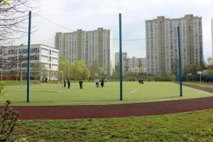 Спортивное поле в районе Братеево