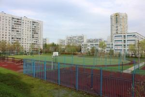 Футбольное поле в районе Братеево