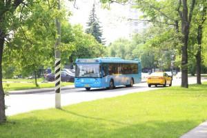 Автобус в районе Бирюлево Западное