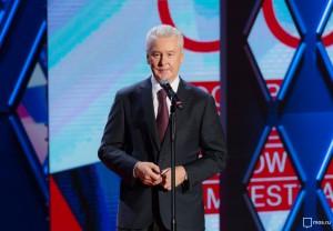 Мэр Москвы Сергей Собянин на открытии Московского международного кинофестиваля