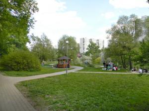 Зона отдыха у воды на Борисовских прудах