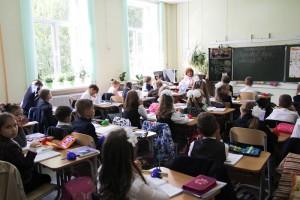 Ученики одной из школ Южного округа