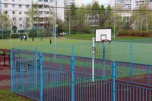 Баскетбольная площадка в районе Братеево