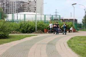 Масштабные благоустроительные работы проходят на территории района Братеево