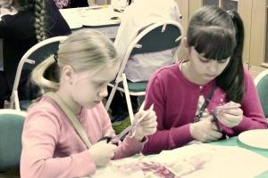 Дети района Братеево на мастер-классе