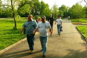 """Активисты """"Безопасной столицы"""" в районе Братеево"""
