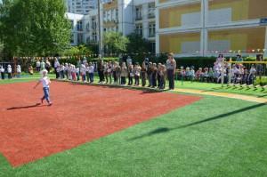 Военно-спортивная игра Победа на территории школы №1034