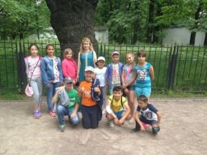 Дети района Братеево в музее-заповеднике Коломенское