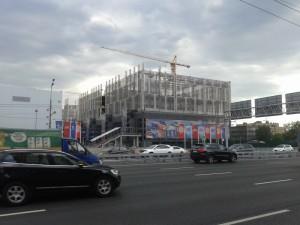Строительство на территории ЗИЛа