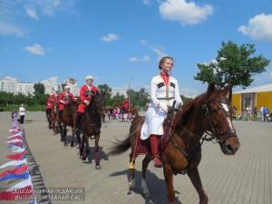 Выступление Кремлевской школы верховой езды