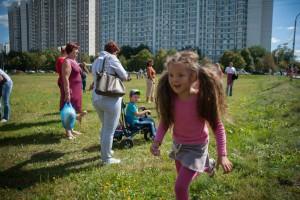 Детский праздник в районе Братеево