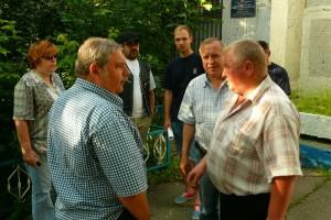 Активисты Безопасной столицы в районе Братеево