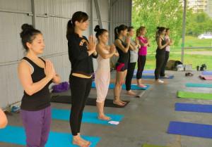 Занятия по йоге в районе Братеево