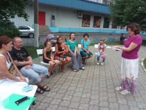 """Дети района Братеево за игрой в """"Разведчики"""""""