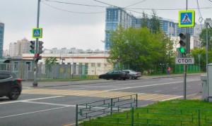 В районе Братеево отремонтировали светофор