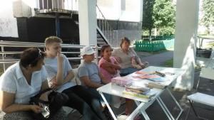Жители района Братеево